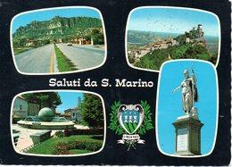 BELLISSIMA CARTOLINA SAN MARINO E862 - San Marino