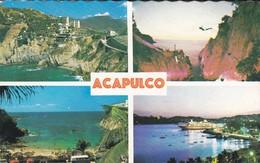 MEXIQUE---ACAPULCO--multi-vues---voir 2 Scans - Mexique