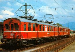 AK Eisenbahn Neuenburg Am Rhein Triebwagen 485 019-4 Deutsche Bahn DB Fuchs/BBC Bundesbahn Deutschland Germany - Eisenbahnen