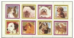 Equatorial Guinea - 1978 Dogs Sheetlet MH * - Equatorial Guinea