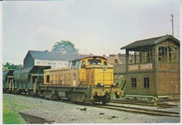 CP - TRAINS - LOCOMOTIVES - Locomotive Brissonneau N°33 En Gare De Denain-Mines. - Treinen