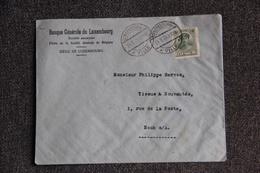Timbre Sur Lettre Publicitaire - LUXEMBOURG - Banque Générale Du LUXEMBOURG - Lussemburgo