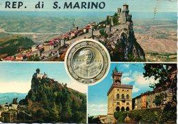 BELLISSIMA CARTOLINA SAN MARINO E870 - San Marino
