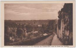 POITIERS LE CHEMIN DE TRAINE BOT VERS LE PONT DU TUNNEL TBE - Poitiers