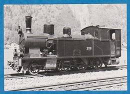 CP - Train - SBB - CFF - Brünig Schmalspur - Voie étroite G 3-4 201-206 De 1906. - Treinen