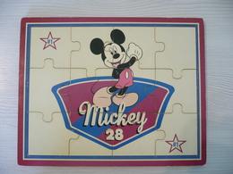Puzzle En Bois 12 Pièces - MICKEY - Disney - Puzzle Games