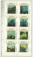 Equatorial Guinea - 1977 Flowers Sheetlet MH * - Equatorial Guinea