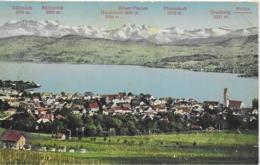 AK 0212  Meilen - Panorama / Verlag Volkart Um 1920 - ZH Zürich