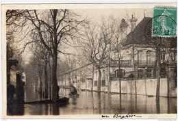 NEUILLY SUR SEINE LES INONDATIONS 1910 RUE BORGHESE TBE - Neuilly Sur Seine