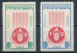 °°° PANAMA - Y&T N°277/78 PA - 1963 MNH °°° - Panama