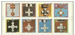 Equatorial Guinea -1970's Medals Sheetlet MLH * - Equatorial Guinea