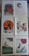 Lot Nombreuses Illustrations De Fantasio - 5 Ch - Quadrillette Peugeot Etc Etc Etc - Livres, BD, Revues