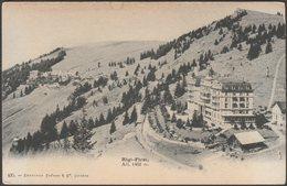 Rigi-First, Schwyz, C.1900-05 - Charnaux Frères CPA - SZ Schwyz