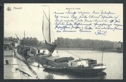 +++ CPA - HASSELT - Bassin Du Canal - Nels - Cachet Kommandantur Sint Truiden Feldpost  // - Hasselt