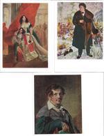 3010q: 3 AKs Kunst Aus Russland, Diverse Motive - Illustrators & Photographers