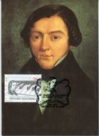 35408 MACEDONIA Maximum 2010, Music Composer Robert Schumann - Muziek