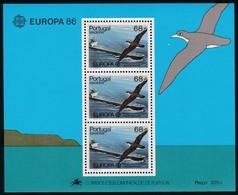 1986, Madeira, 106 Block 7, Europa: Natur- Und Umweltschutz. MNH ** - Madeira