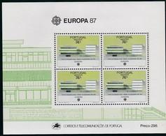 1987, Madeira, 115 Block 8, Europa: Moderne Architektur. MNH ** - Madeira
