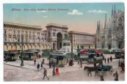 (Italie) Lombardia 102, Milano, Arco Della Galleria Vittorio Emanuele, Tramway - Milano (Milan)