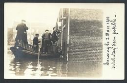 +++ CPA - Photo Carte - Foto Kaart -  SERAING - Inondations - Distribution D'eau Potable 1910  // - Seraing