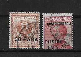 Levant Italien Yv. 143 Et 168 O. - 11. Foreign Offices