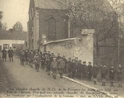 +++ CPA - CHIEVRES - Chapelle De Notre Dame De La Fontaine - Nels - Carte Animée   // - Chièvres