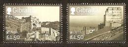 Gibraltar  2017  Micheln° 1772-1773 *** MNH  Cept Europa Kastelen Castles Châteaux - Gibraltar