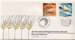 Brazil Pair On FDC - Food