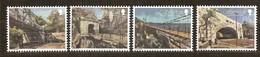 Gibraltar  2018  Micheln° 1838-1841 *** MNH  Cept Europa Ponts Bridges Bruggen - Gibraltar