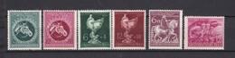 Deutsches Reich - 1944/45 - Michel Nr. 900/03+ 907/08 - Ungebr. - Deutschland