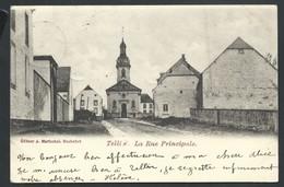 +++ CPA - TELLIN - La Rue Principale   // - Tellin