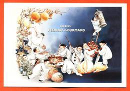 "CPM GF Publicitaire "" Bonbons Pierrot Gourmand "" - Werbepostkarten"