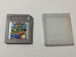 GAME BOY NINTENDO WARIO LAND  CARTUCCIA +CUSTODIA. - Nintendo Game Boy