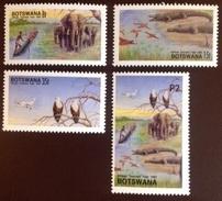 Botswana 1991 Okavango Delta Birds Animals MNH - Briefmarken