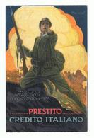 CREDITO  ITALIANO:  PRESTITO  -  FATE  TUTTI  IL  VOSTRO  DOVERE  -  ILLUSTRATORE  L.A. MAUZAN  -  FP - Banche