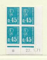 FRANCE  ( FCD7 - 9 )   1971  N° YVERT ET TELLIER  N° 1663  N** - 1970-1979