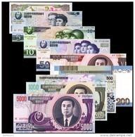 North Korea  Banknotes  Aniversary Of  Kim Ll-sung - Corea Del Nord