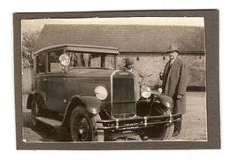 PHOTO ORIGINALE - VIEILLE VOITURE BERLINE CHENARD WALKER Y9 Y 9 - FRENCH OLD CAR SEDAN - Automobili