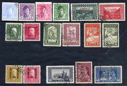 BOSNIA & HERZEGOVINA 1913-17 Seven Complete Issues, Used.  Micbel €30 - Bosnien-Herzegowina
