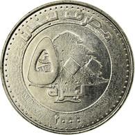 Monnaie, Lebanon, 500 Livres, 2000, TTB+, Nickel Plated Steel, KM:39 - Libanon
