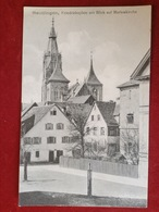 AK Reutlingen Friedrichsplatz Mit Blick Auf Marienkirche Ca. 1901 - Reutlingen