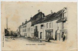 70 PORT Sur SAÔNE      Grande Rue - Frankrijk