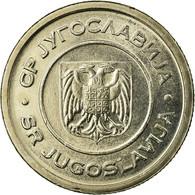 Monnaie, Yougoslavie, 5 Dinara, 2000, Belgrade, SUP, Copper-Nickel-Zinc, KM:182 - Yougoslavie
