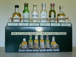 Coffret Avec Présentoir De 6 Mignonnettes - Whisky - Classic Malts Of Scotland - Mignonnette - Avec Notes De Dégustation - Mignonnettes