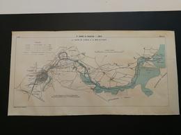 ANNALES PONTS Et CHAUSSEES (Allemagne) - Plan Du IXe Congrès De Navigation - LÜBECK - 1903 (CLA53) - Cartes Marines