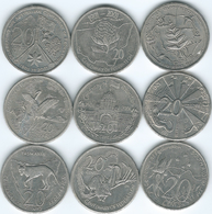 Australia - Elizabeth II - 20 Cents - 2001 Centenary Of Federation X 9 - Decimal Coinage (1966-...)