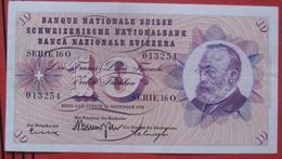 10 Franken 1959 (WPM 45e) - Suiza