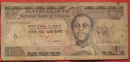 1 Birr 1998 (WPM 46a) - Ethiopia