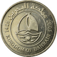 Monnaie, Bahrain, Hamed Bin Isa, 50 Fils, 2005/AH1426, TTB, Copper-nickel, KM:25 - Bahrein