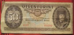 50 / Ötven Forint 1986 (WPM 170g) - Hungary